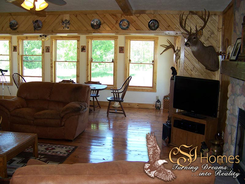 The Cabin by CSI Homes, Cambridge, Illinois