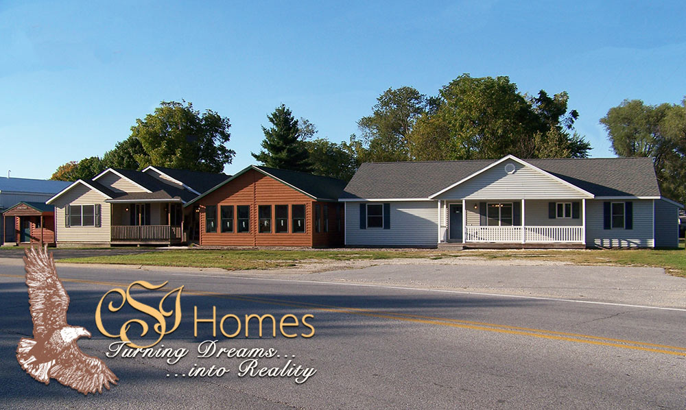Model homes illinois
